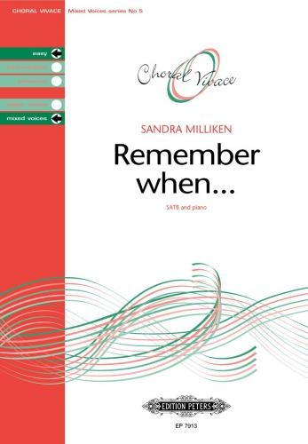 Remember When: SATB & Piano (Choral Vivace)