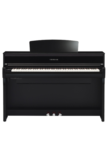 Yamaha CLP675 Clavinova Polished Ebony Finish