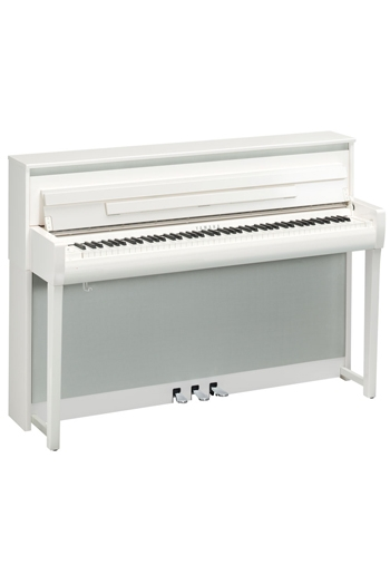 Yamaha CLP685 Clavinova Polished White Finish