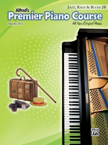 Alfred Premier Piano Course 2b: Jazz Rags & Blues