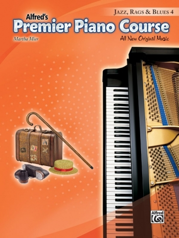 Alfred Premier Piano Course 4: Jazz Rags & Blues