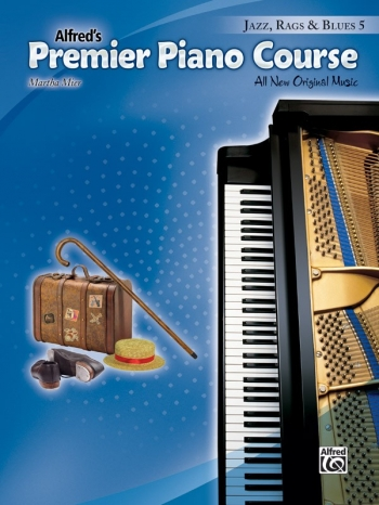 Alfred Premier Piano Course 5: Jazz Rags & Blues