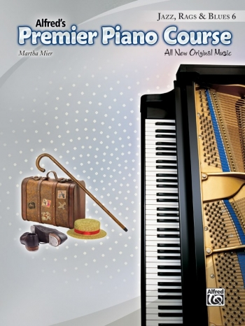 Alfred Premier Piano Course 6: Jazz Rags & Blues