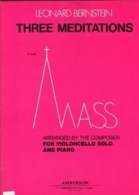 Three Meditations: Cello & Piano (Boosey & Hawkes)