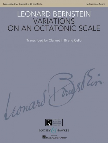 Variations On An Octatonic Scale: Bb Clarinet & Cello (Boosey & Hawkes)