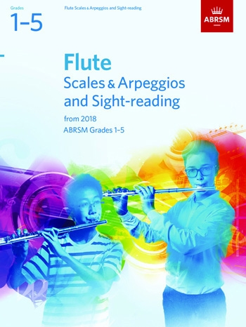 ABRSM Flute Scales & Arpeggios And Sight-Reading Grades 1–5 From 2018