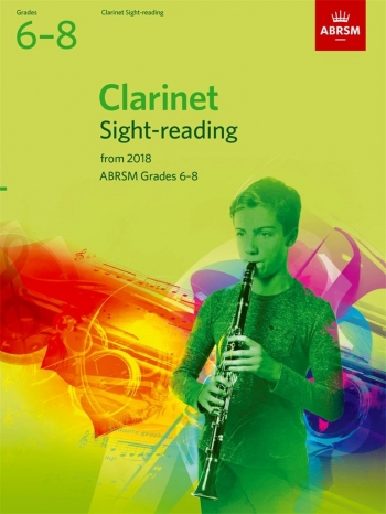 ABRSM Clarinet Sight-Reading Tests Grades 6–8 From 2018