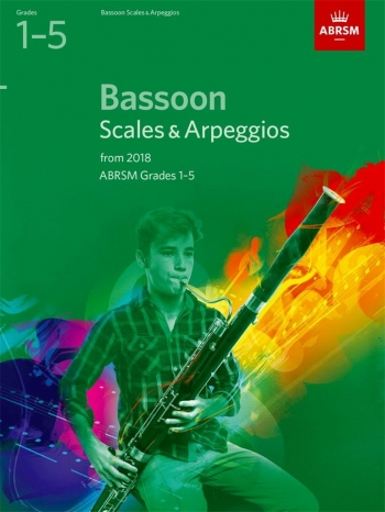 ABRSM Bassoon Scales & Arpeggios Grades 1–5 From 2018