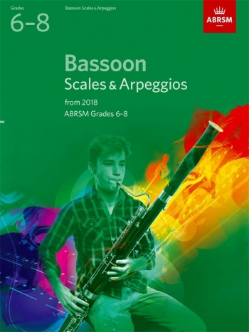 ABRSM Bassoon Scales & Arpeggios Grades 6-8 From 2018