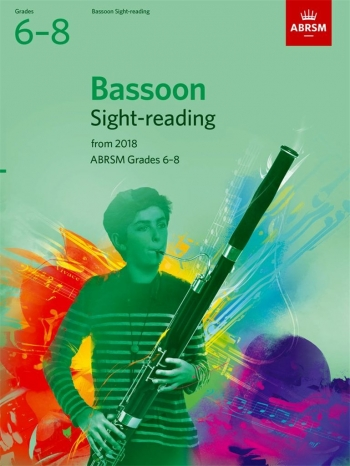 ABRSM Bassoon Sight-Reading Tests Grades 6-8 From 2018