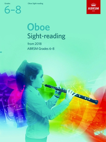 ABRSM Oboe Sight-Reading Tests Grades 6-8  From 2018