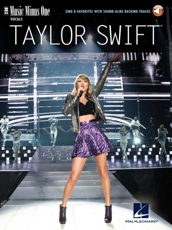 Taylor Swift - Sing 8 Favorites Book With Audio-Online