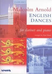 English Dances: Clarinet & Piano (Lengnick)