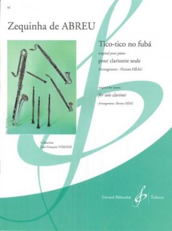 Tico Tico: Clarinet Solo (Abreu) (Billaudot)