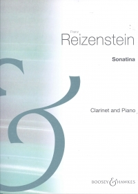 Sonatina Op.48 For Clarinet And Piano (Boosey & Hawkes)