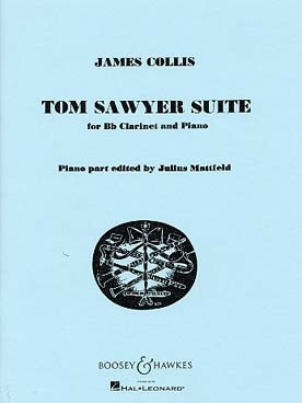 Tom Sawyer Suite For Clarinet And Piano (Boosey & Hawkes)