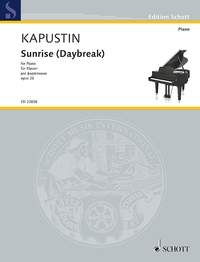 Sunrise For Piano Opus.26 (Schott)
