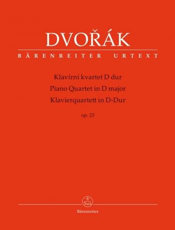 Piano Quartet In D Major: Op. 23: Score And Parts (Barenreiter)