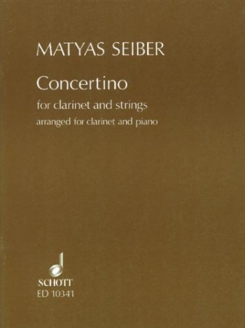 Concertino Clarinet & Piano (Schott)