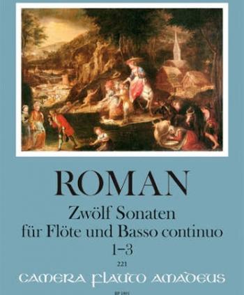 Twelve Sonatas Flute & Piano (Amadeus)