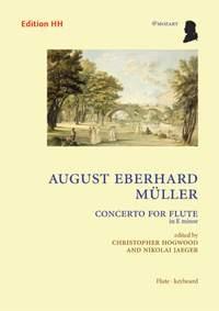 Concerto For Flute E Minor: Flute & Piano (HH)