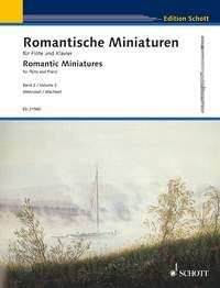 Romantic Miniatures Vol.2 : Flute & Piano (Schott)