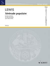 Sérénade Populaire Flute & Piano (Schott)