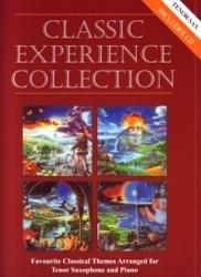 Classic Experience: Tenor Sax & Piano Book & CD