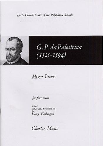 Missa Brevis: SATB: Vocal Score (Cheter)