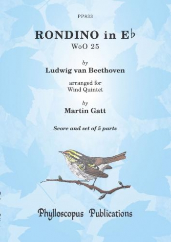 Rondino In Eb: Wind Quintet: Score & Parts