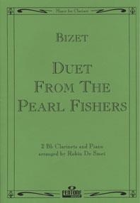 Duet From The Pearl Fishers: Clarinet Duet & Piano