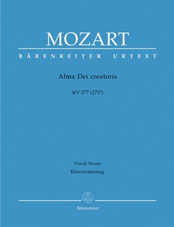Alma Dei Creatoris: Vocal Score (Barenreiter)