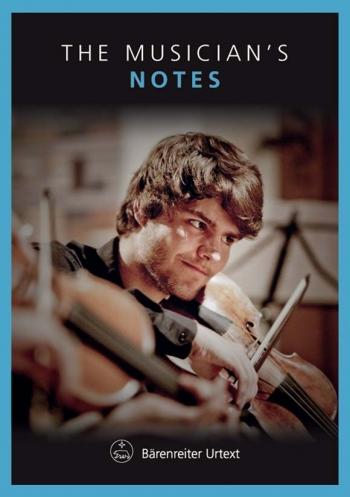 Manuscript - Notes: The Musicians Notes Violin: Inerleaved (Barenreiter)