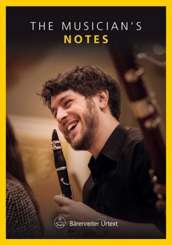 Manuscript - Notes: The Musicians Notes Clarinet: Inerleaved (Barenreiter)