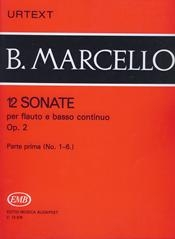 12 Sonatas Op.2 Vol.1: Treble Recorder Or Flute And Piano (EMB)