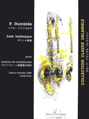 Suite Hellenique: Eb Or BbSaxophone & Piano (Lemoine)