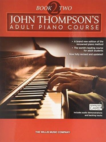 John Thompson's Adult Piano Course: Book Two  Book & Download Card