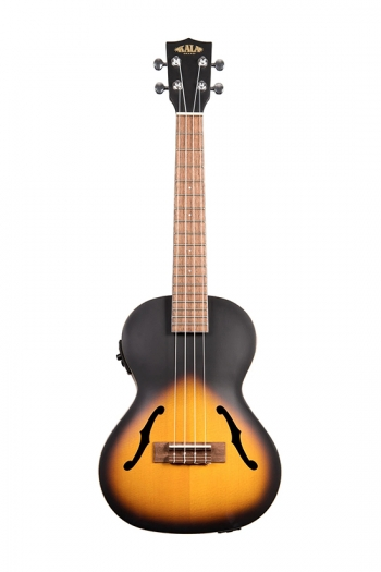Kala KA-JTE-2TS Tenor Archtop: Satin Finish: Electro-Acoustic