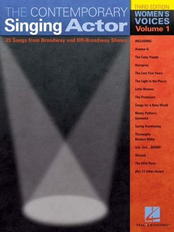 The Contemporary Singing Actor: Revised Woman's Edition Vol 1