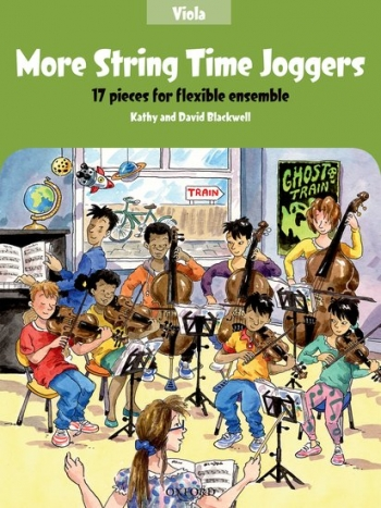 More String Time Joggers: Viola Part: 17 Pieces Flexible Ensemble (blackwell)