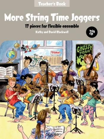 More String Time Joggers: Teachers Pack: 17 Pieces Flexible Ensemble: Sc&cd (blackwell)