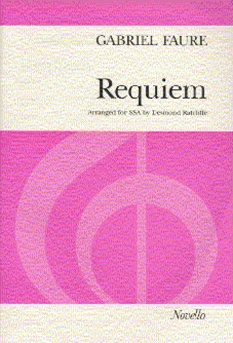 Requiem: Vocal Score SSA (Novello)