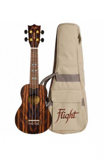 Flight: DUS460 Soprano Ukulele - Amara (With Bag)