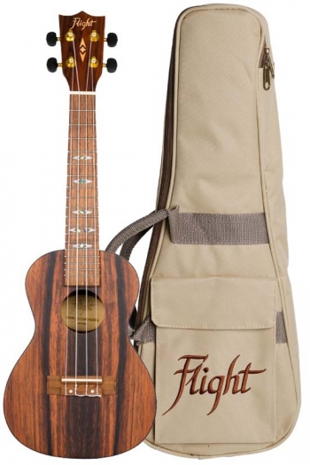 Flight: DUC460 Concert Ukulele - Amara (With Bag)
