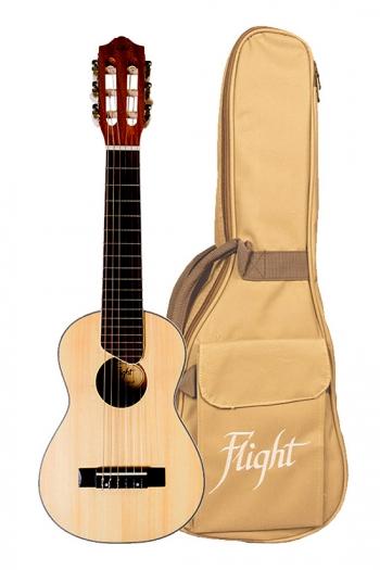 Flight: GUT350 Guitalele - Natural (With Bag)