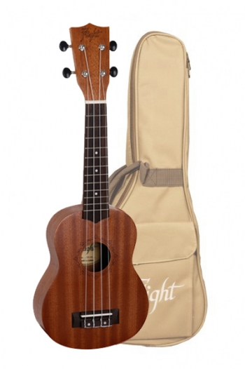 Flight: NUS310 Soprano Ukulele - Sapele (With Bag)