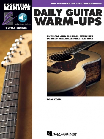 Essential Elements Guitar - Daily Guitar Warm-Ups Book & Audio Access