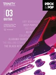 Trinity Rock & Pop 2018 Guitar Grade 3 Book & Download