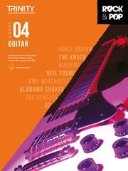 Trinity Rock & Pop 2018 Guitar Grade 4 Book & Download