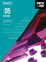 Trinity Rock & Pop 2018 Guitar Grade 5 Book & Download